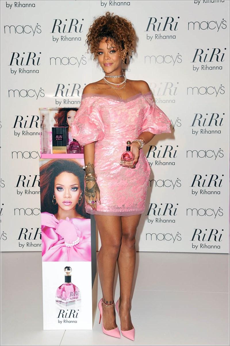 Rihanna Launches New Fragrance