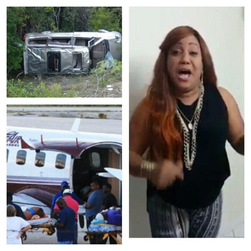 Soca Star Denise Belfon in Accident in Bahamas