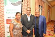 "Jamaican Senator Olivia ""Babsy"" Grange, Dr. Kenneth Wykeham McNeill, Larkin Arnold"