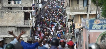 Haitian Presidential Elections lead to Protest