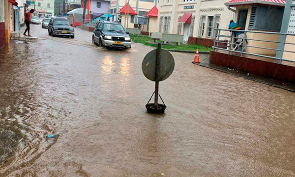 Grenda flooding are signs of Climate Change