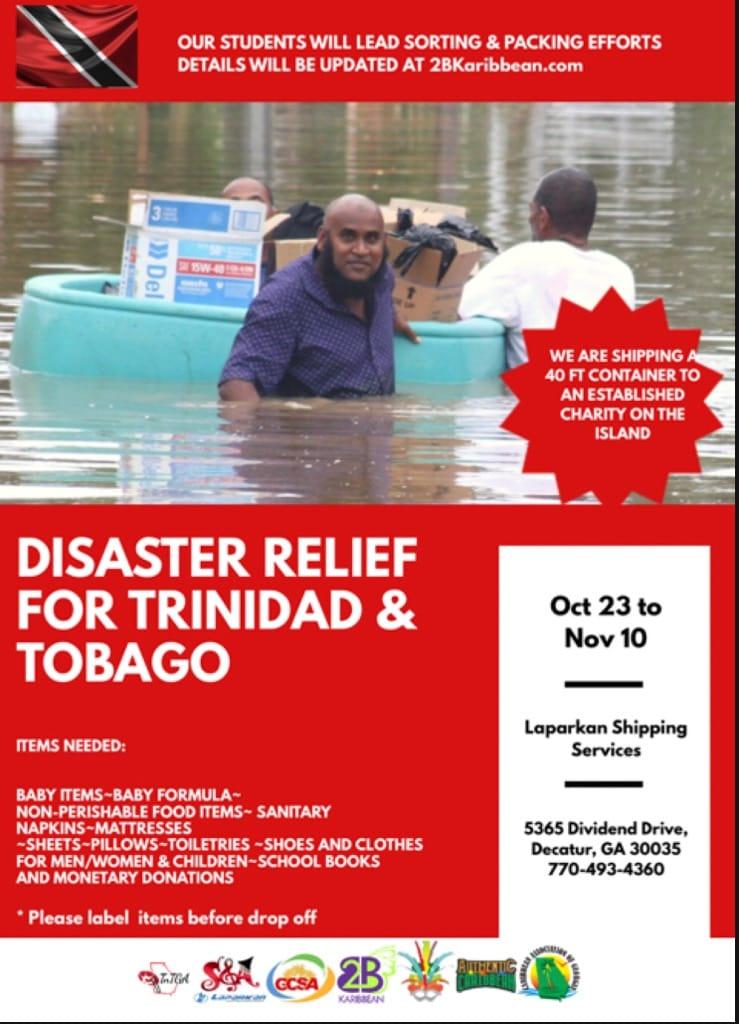 Trinidad Diaster Relief