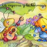 Caricaturas y Animé -Fábula La Cigarra y la Hormiga