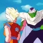 Picoro llama cobarde a Goku por no ayudar a Gohan (HD)