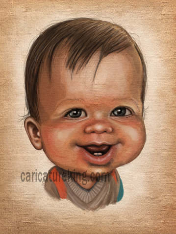 baby-commissioned-art-caricature