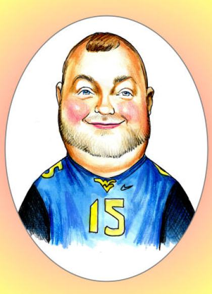 man caricature from caricatureking.com