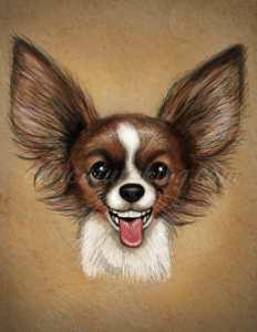 smiling dog caricature ift art caricature from caricatureking.com