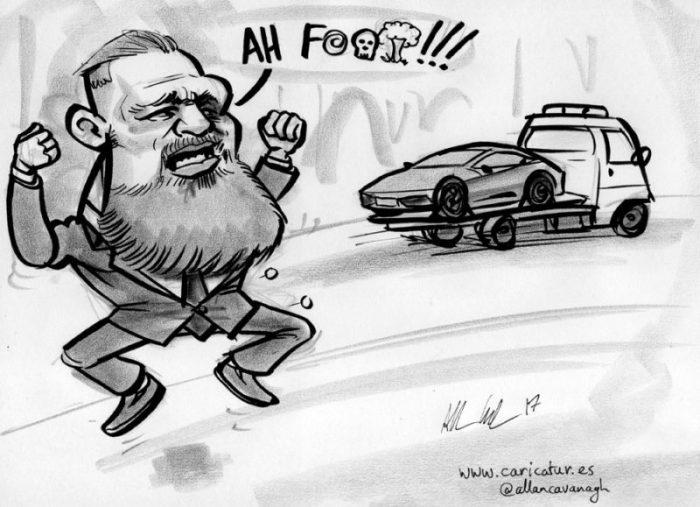 conor mcgregor cartoon