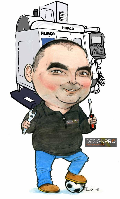 Hurco Machine Limerick Cartoon