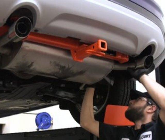 Curt Trailer Hitch Installation On Ford Escape
