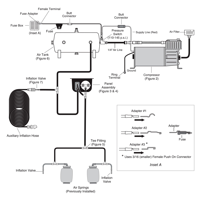 Diagram Electronic Air Suspension System Diagram Full