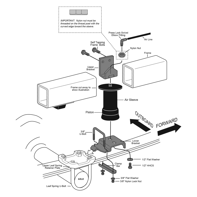 For Mercury Villager Air Lift Ridecontroll