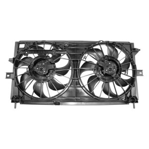 APDI®  Chevy Impala 20002003 Dual Radiator and Condenser Fan