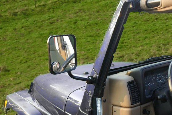 CIPA Jeep CJ Style Replacement Mirrors