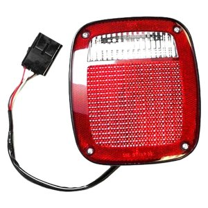 Crown®  Jeep Wrangler 1997 Replacement Tail Light