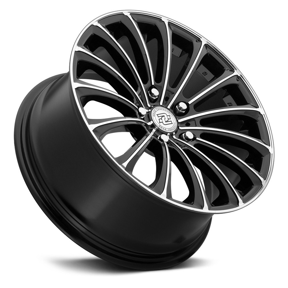 DRAG CONCEPTS R 20 Wheels Gloss Black With Machined