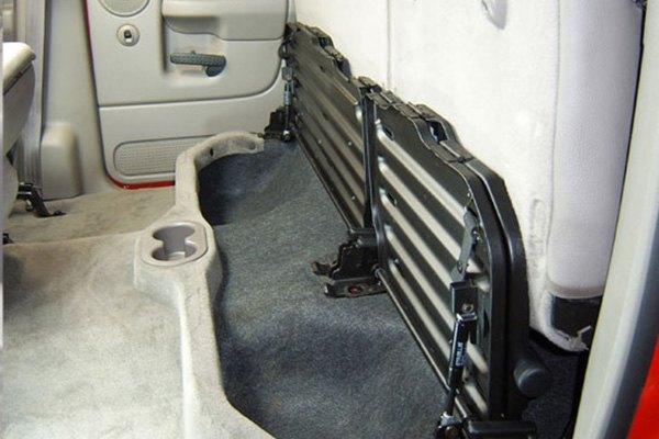 Dodge Quad Subwoofers Down Cab Ram Seat