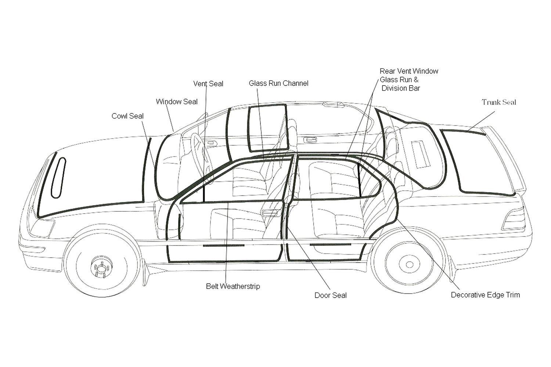 For Ford Bronco Fairchild Kf Quarter Panel