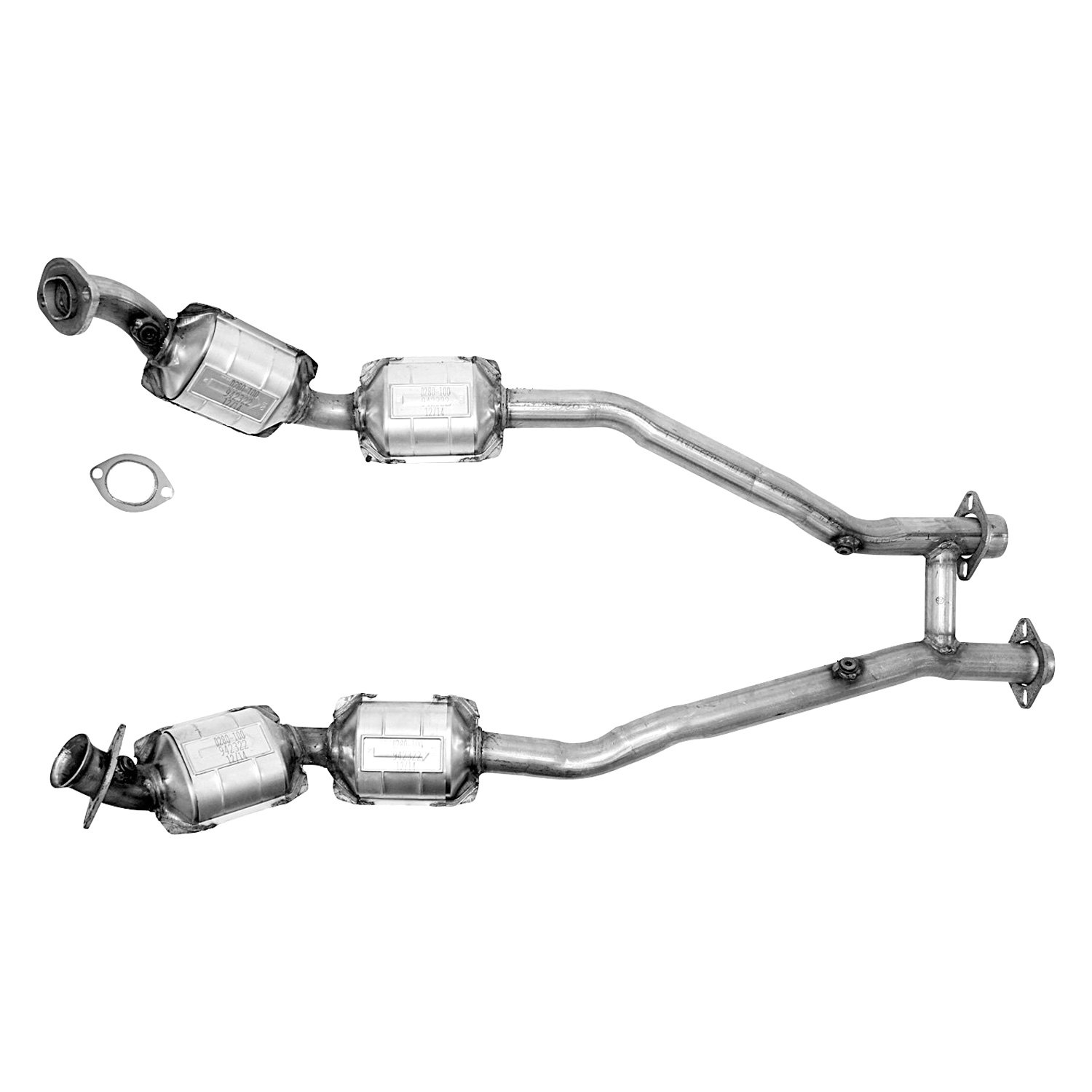 For Ford Mustang Flowmaster Direct Fit