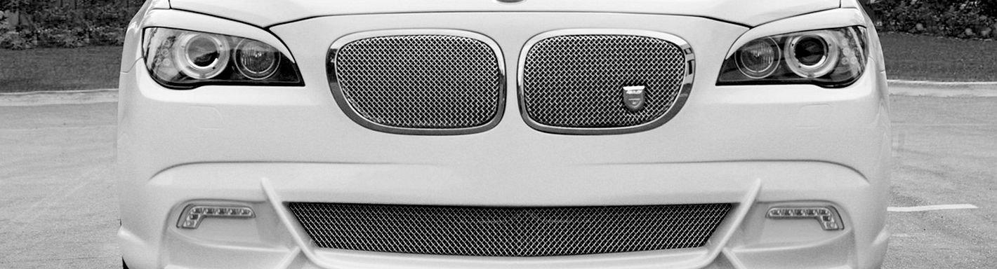 2013 BMW 7 Series Custom Grilles Billet Mesh LED