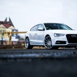 Graceful White Audi A5 With Styling Tweaks Carid Com Gallery