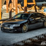 Stance Is Everything Black Audi A6 With Custom Parts Carid Com Gallery