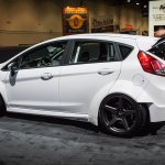 Distinct Custom Body Kit On White Ford Fiesta Carid Com Gallery
