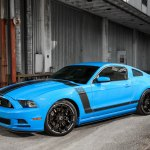 Mustang Boss 302 On Forgiato Custom Wheels By Exclusive Motoring Carid Com Gallery