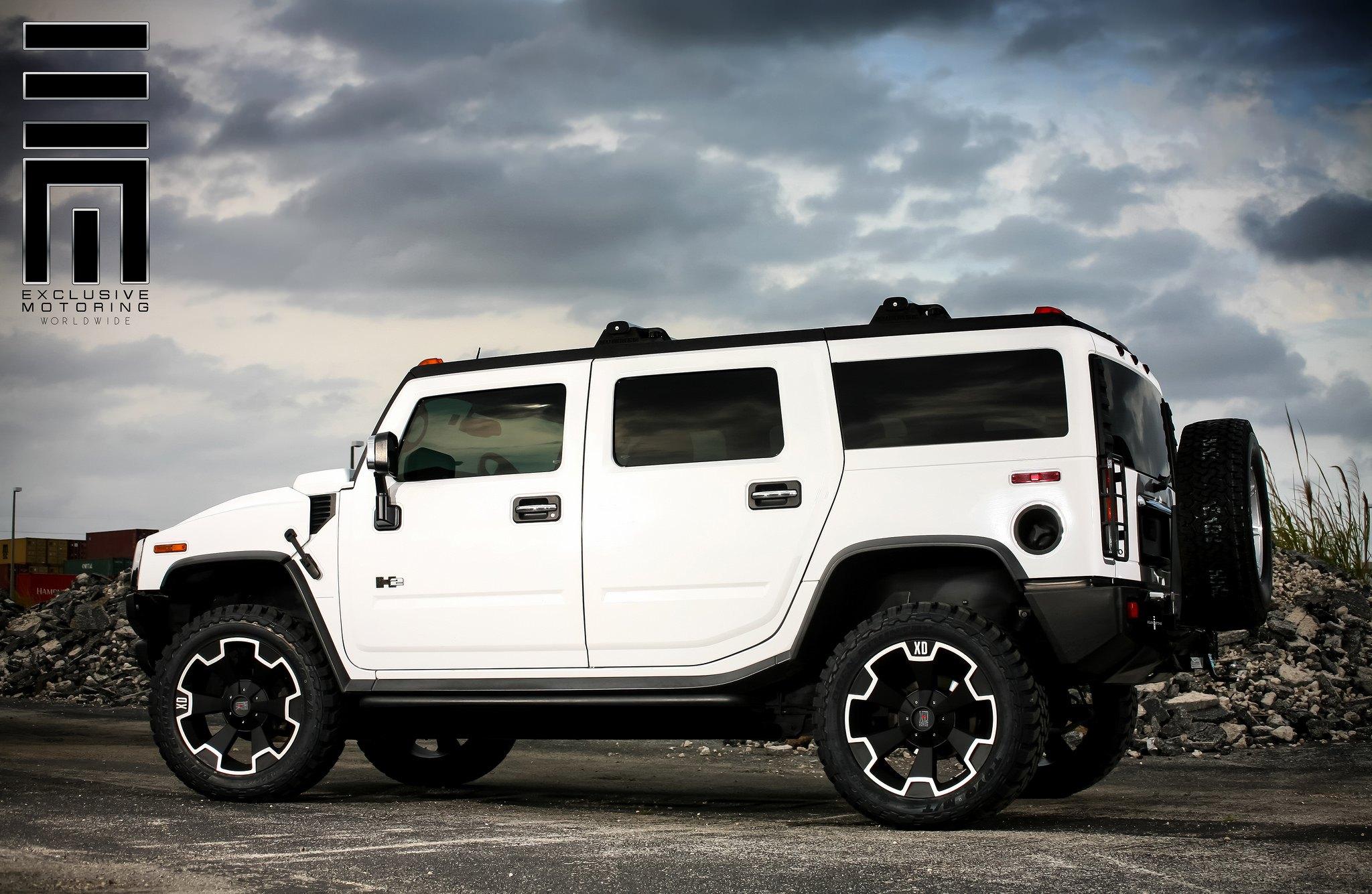 Big Ice Cream on Wheels Hummer H2 on XD Custom Wheels — CARiD