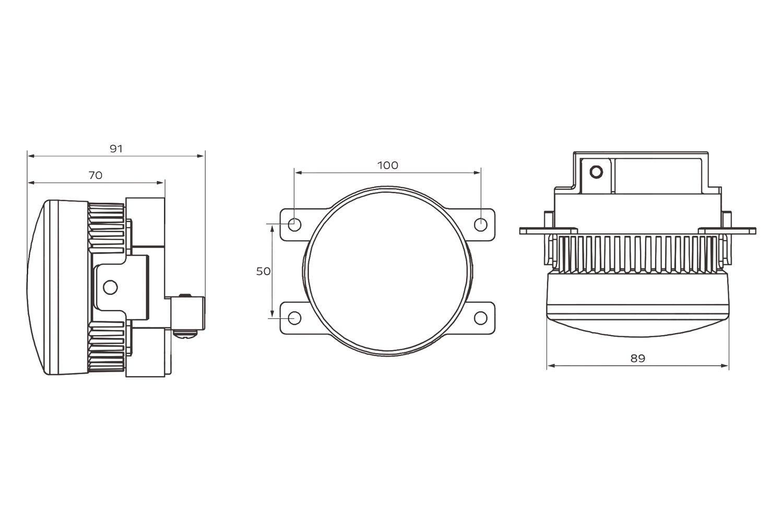 For Subaru Impreza Morimoto Lf10 S Projector Led