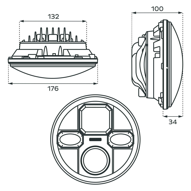Halo Projector Headlights
