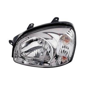 Replace®  Hyundai Santa Fe 2005 Replacement Headlight