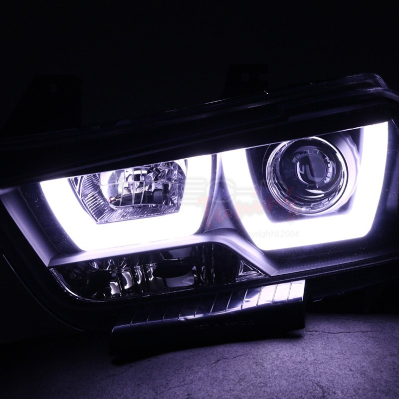 Spec D Dodge Charger With Factory Halogen Headlights