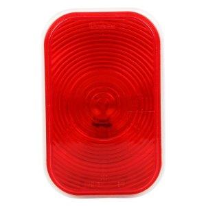 TruckLite 45202R  Red Rectangular Super 45 StopTurn