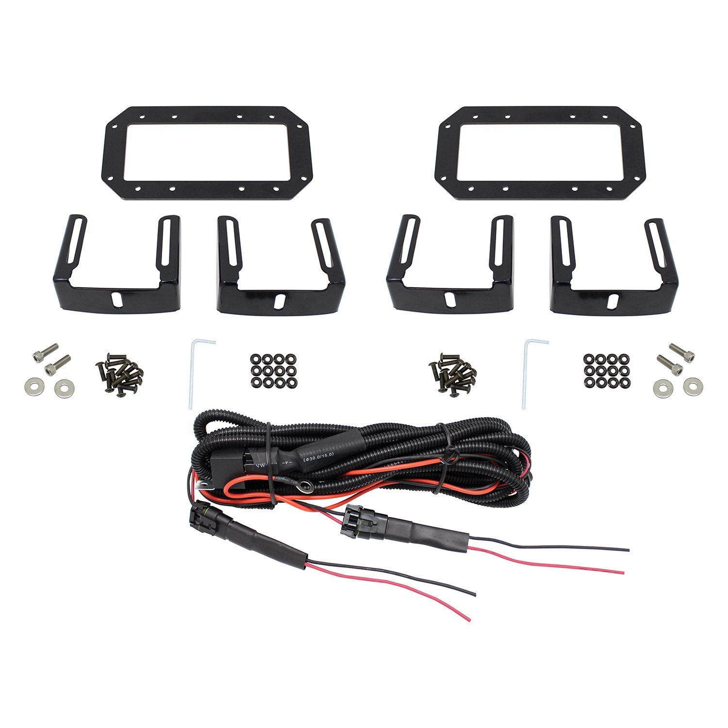 Grille Guard Mounted Hdx B Force 6 2x36w Dual Row Combo