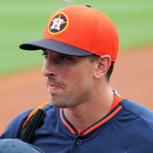 Today's choice is catcher Jason Castro. Jason is a catcher for the Houston Astros and was a reserve catcher for the 2013 All-Star Game.