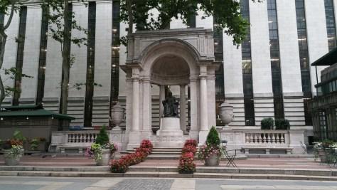 William Cullen Bryant Statue in Bryant Park