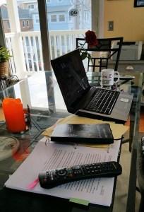 #WriteWed Writer's Desk