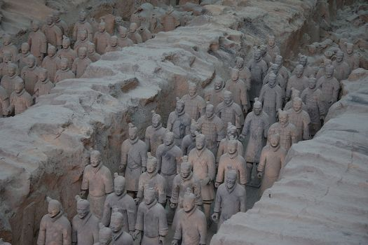 Terracotta Army Pit 1 - 2
