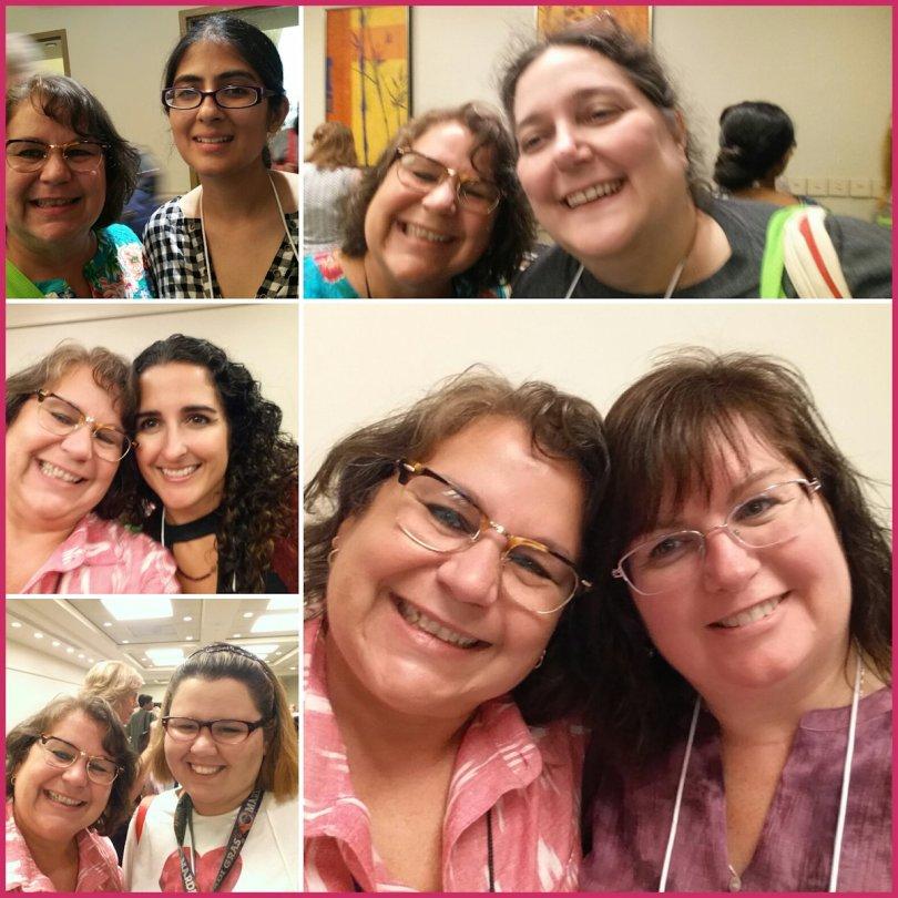 #RWA17 Caridad and friends