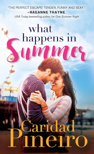 What Happens in Summer Jersey Shore Contemporary Romance by Caridad Pineiro