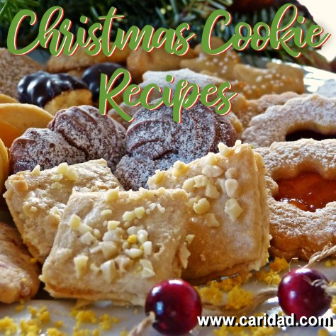 Christmas Cookie Recipes Tuesdaytipcaridad Pineiro Caridad Pineiro