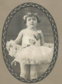 Picture of my mom, Carmen, as a little kid