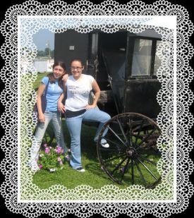 Sammie and her friend at Kutztown Fair in Pennsylvania
