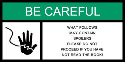 Warning - Possible Spoilers up ahead!