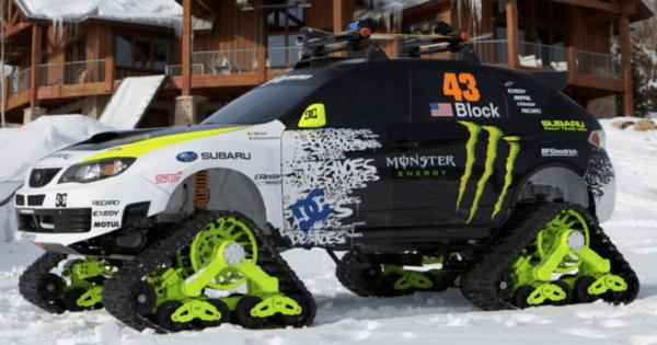 Ken Block Subaru Snow Trax WRX STI