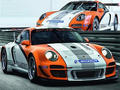 Porsche 911 GT3 R hybride