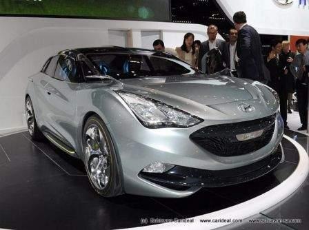 Hyundai I flow Hybride concept