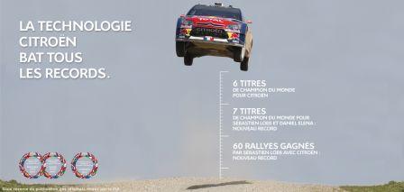 Sébastien Loeb 7eme fois Champion du monde