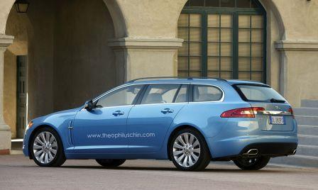 Jaguar XF Estate 2011 pour 2012